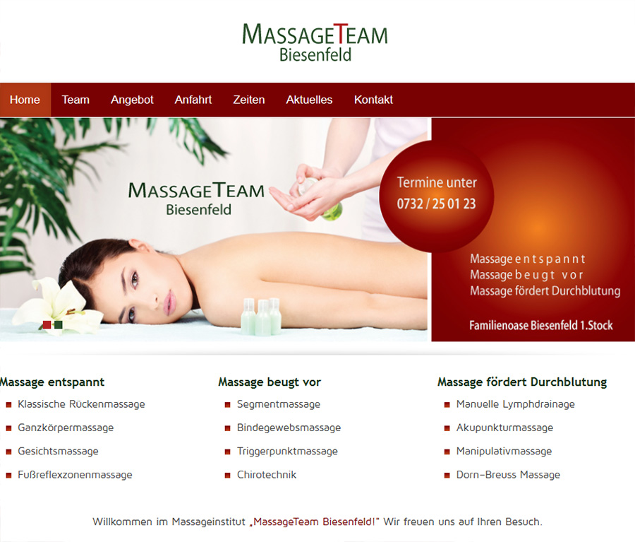 Massageteam Biesenfeld